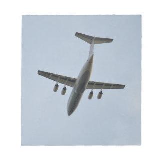 Avro RJ85 Jet In Flight Memo Note Pads