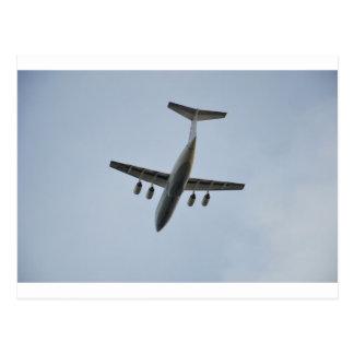 Avro RJ85 Jet In Flight Postcard