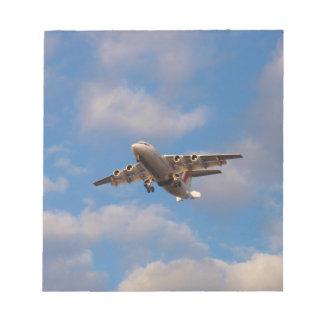 Avro RJ85 Jet Landing Notepads