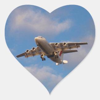 Avro RJ85 Jet Landing Sticker