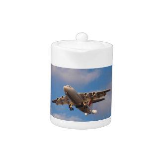 Avro RJ85 Jet Landing