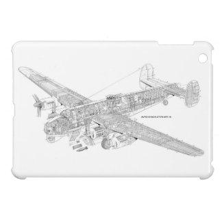Avro Shakelton Gutaway iPad Mini Cases
