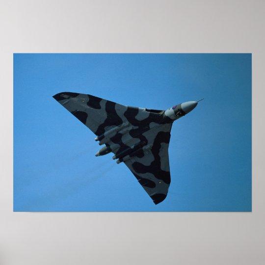Avro Vulcan B2, XH-558 Poster