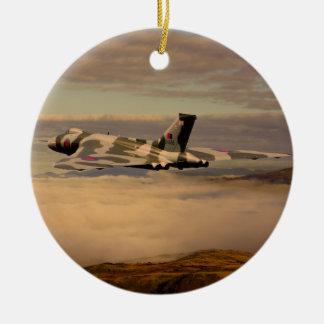 Avro Vulcan Bomber XH558 Ceramic Ornament