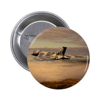 Avro Vulcan Bomber XH558 Pinback Button