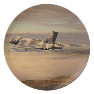 Avro Vulcan Bomber XH558 Plate