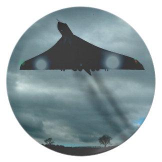 Avro Vulcan  Scramble 1966 Plate