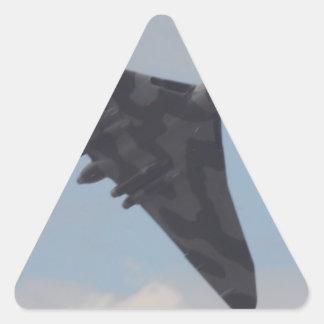 Avro Vulcan XH558 Triangle Sticker
