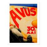 AVUS ~ Vintage Race Car Track Berlin Germany Post Cards