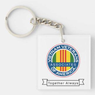 AVVA Square Key Chain