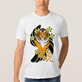 "AW177 ""año camiseta del tigre"" Playeras"