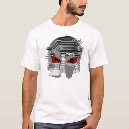 "AW177 ""Circuit Death"" (Black Eyes) 3D T-Shirt"