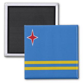 AW - Aruba - bandera Imán Cuadrado