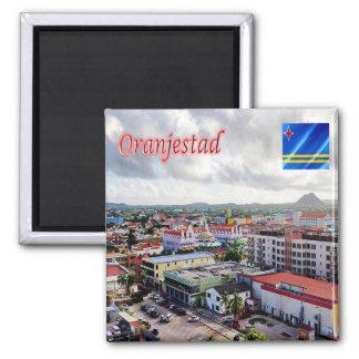 AW - Aruba - Oranjestad Magnet