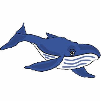 AW- Blue Whale Photo Sculpture