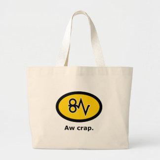 """""""Aw Crap, Paper Jam!"""" Bag"""
