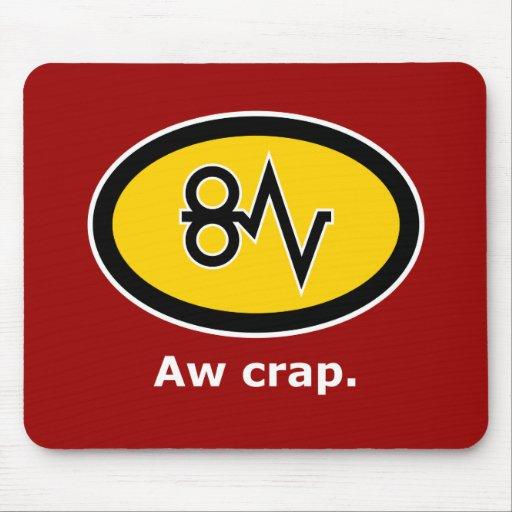 """Aw Crap, Paper Jam!"" Mouse Pad"