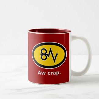 """""""Aw Crap, Paper Jam!"""" Mugs"""