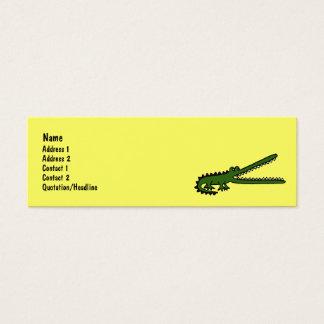 AW- Crocodile Art Business Cards