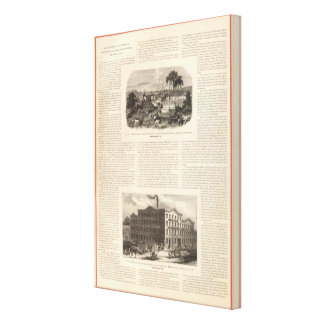 AW Faber's Lead Pencils Canvas Print