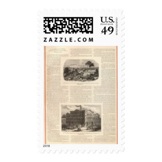 AW Faber's Lead Pencils Postage Stamp