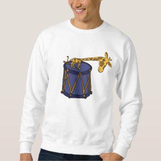 AW- Funny Giraffe and Drum Shirt