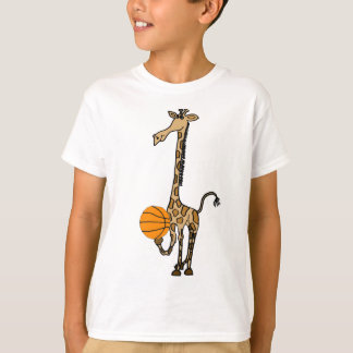 AW- Giraffe with a Basketball Shirt