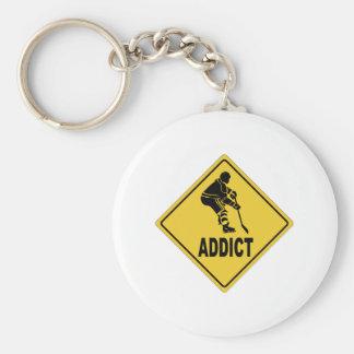 AW Hockey 2 Keychain