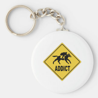 AW Horse Racing 1 Keychain