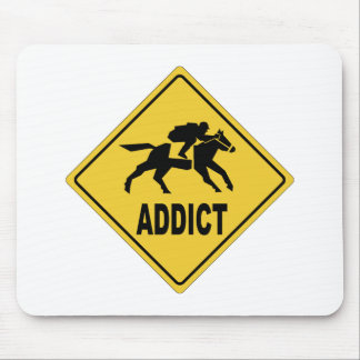 AW Horse Racing 1 Mouse Pad