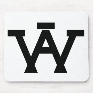 AW logo Mousepad