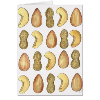 Aw, Nuts! Forgot Your Birthday Funny Peanut Card