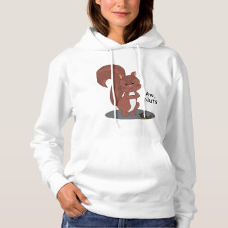 """""""Aw Nuts"""" Squirrel Hoodie"""