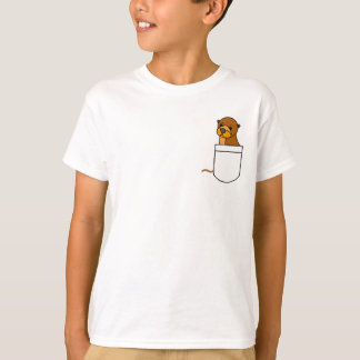 AW- Otter in a Pocket Shirt