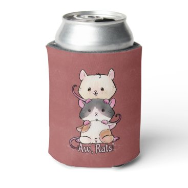 Art Themed Aw, Rats! Can Cooler