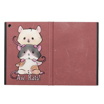 Art Themed Aw, Rats! iPad Air Case