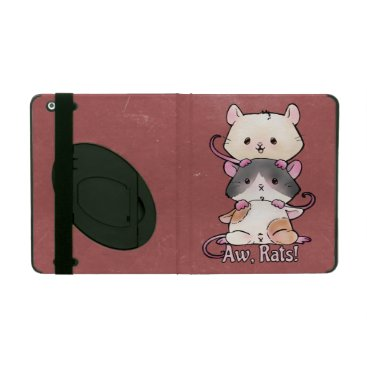 Art Themed Aw, Rats! iPad Cover