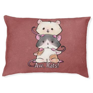 Art Themed Aw, Rats! Pet Bed