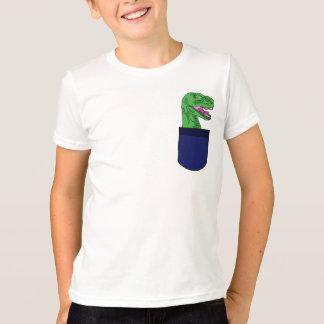 AW- T-Rex in a pocket shirt