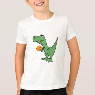 AW- T-Rex Playing Basketball Shirt