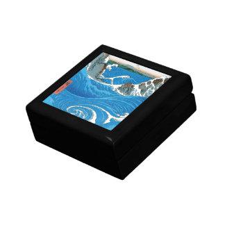 Awa Province, Naruto Whirlpools by Ando Hiroshige Jewelry Boxes