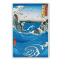 Awa Province, Naruto Whirlpools by Ando Hiroshige Posters