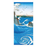 Awa Province, Naruto Whirlpools by Ando Hiroshige Rack Cards
