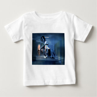 AWAITING THE DEATH OF CORPORATE GREED BABY T-Shirt
