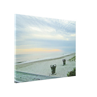 Awaiting the Sunset Canvas Print
