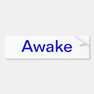 awake bumper sticker car bumper sticker