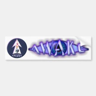 AWAKE Stickers 5 transparent (for Car etc.) Car Bumper Sticker