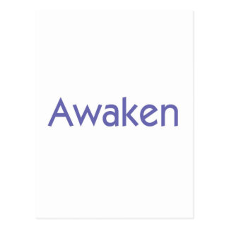 Awaken Postcard