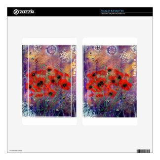 Awaken Series # 425 - Imagine - MiMi Stirn Artist Decal For Kindle Fire