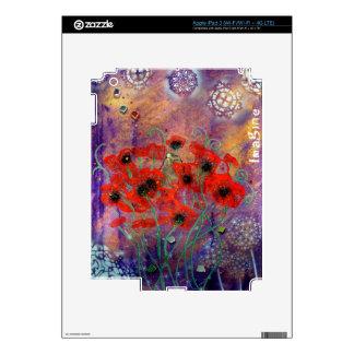 Awaken Series # 425 - Imagine - MiMi Stirn Artist iPad 3 Skin
